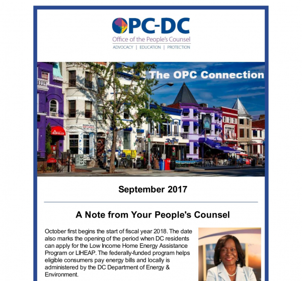 The OPC CONNECTION - September 2017