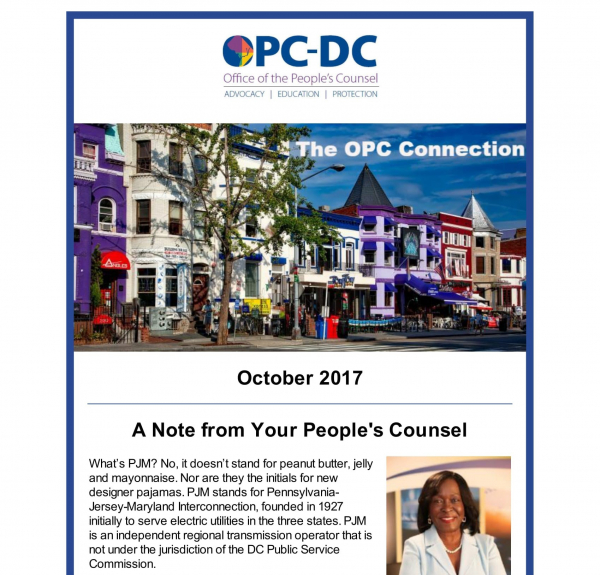 The OPC CONNECTION - October 2017