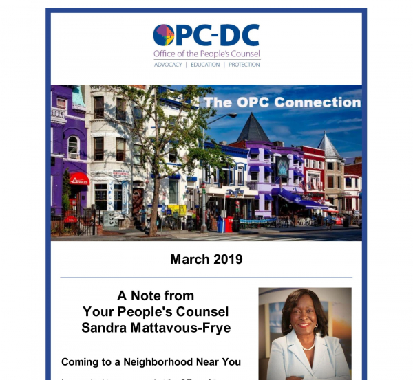 The OPC Connection - March 2019
