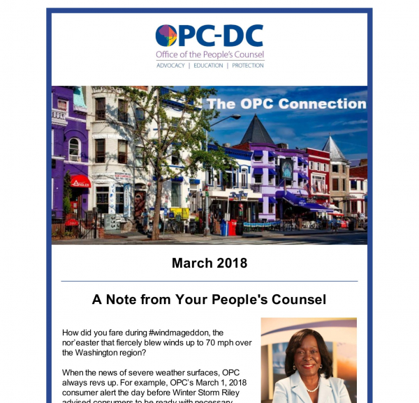 The OPC CONNECTION - March 2018