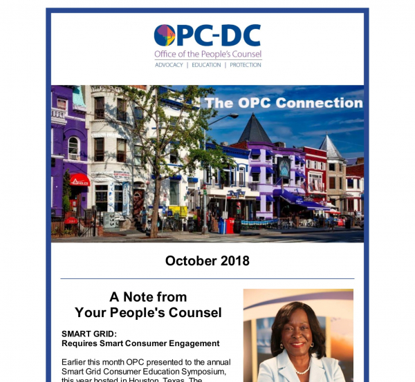 The OPC CONNECTION - October 2018