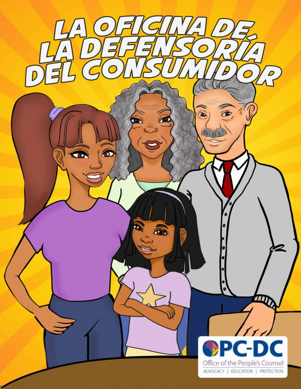 "OPC's illustrated Spanish language ""fotonovela"" shares how ""OPC Can Help!"""
