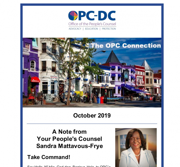 The OPC CONNECTION - October 2019